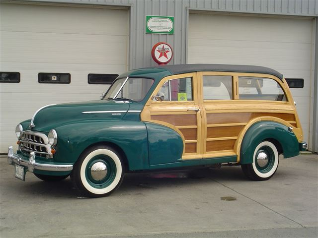 1950 Morris Oxford Woodie