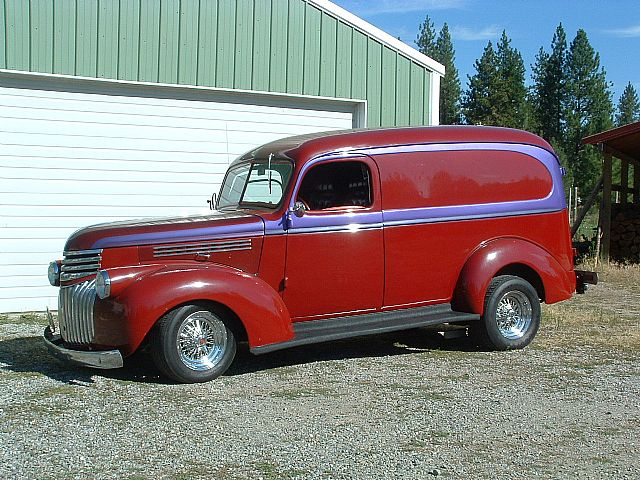 1941 Chevrolet Panel Truck for sale