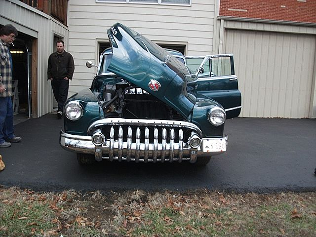 1950 Buick 4 Door for sale