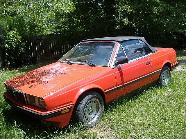 1987 Maserati Biturbo Spyder for sale