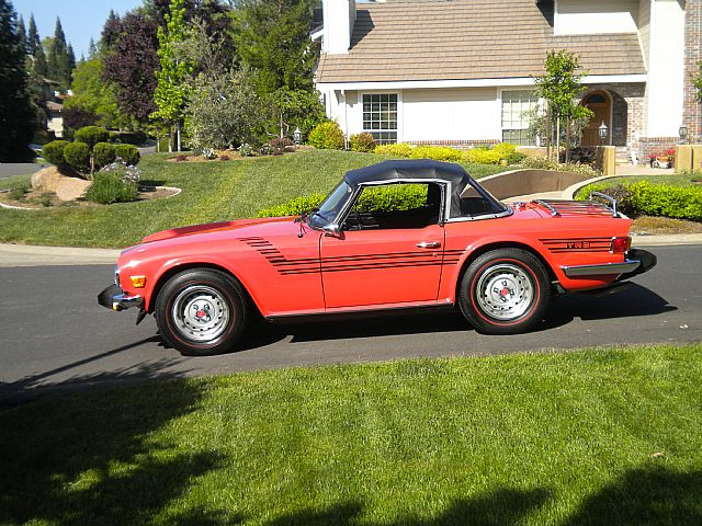 1976 Triumph TR6 for sale