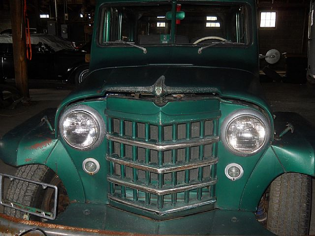 1952 Willys Wagon