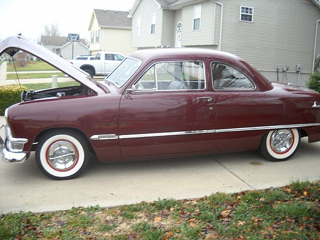 1950 ford 2 door sedan for sale