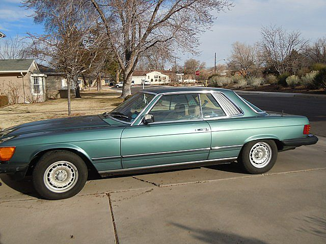 1981 Mercedes 450SLC for sale