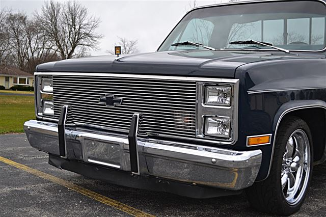 1984 chevrolet c10 silverado for sale milwaukee west virginia. Black Bedroom Furniture Sets. Home Design Ideas