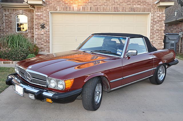 1984 Mercedes 380SL for sale