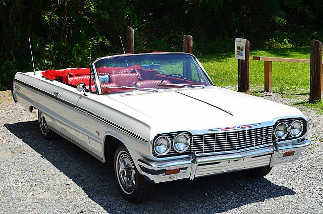 1964 Chevrolet Impala Ss Convertible For Sale Charlotte