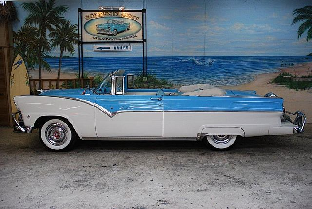 1955 Ford Sunliner for sale