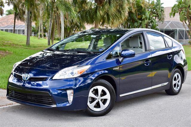2012 Toyota Prius For Sale Delray Beach, Florida