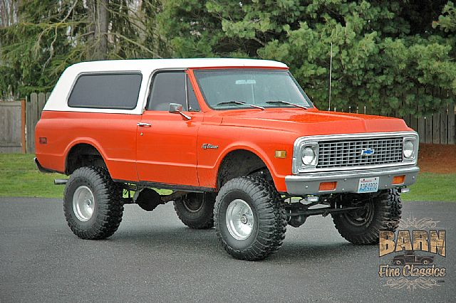 1971 Chevrolet K5 Blazer for sale
