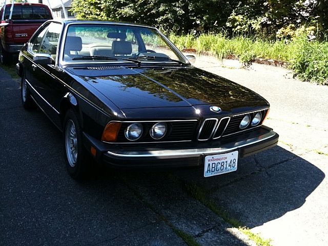 1984 Bmw 633csi For Sale Seattle Washington