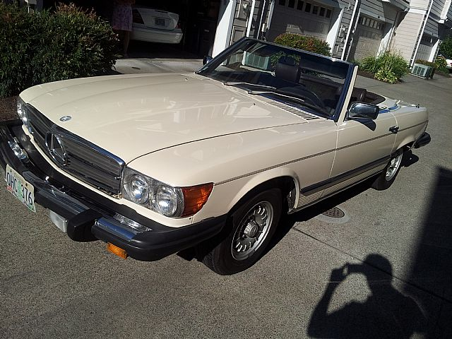 1981 Mercedes 380SL for sale
