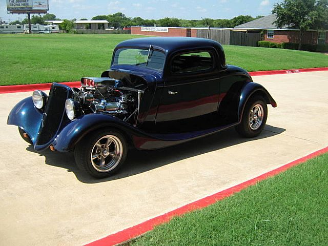 1934 Ford 3 Window Coupe for sale