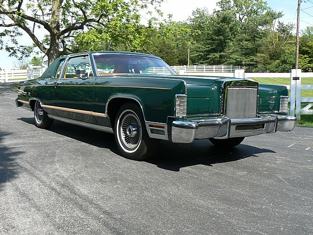 1978 Lincoln Town Coupe