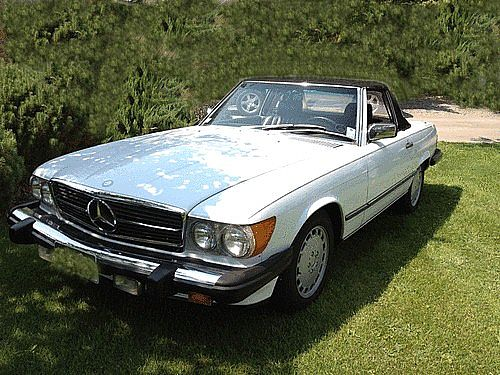 1987 Mercedes 560SL for sale