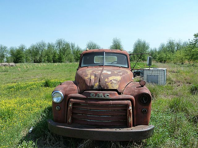1951 GMC 2 Ton Flatbed for sale
