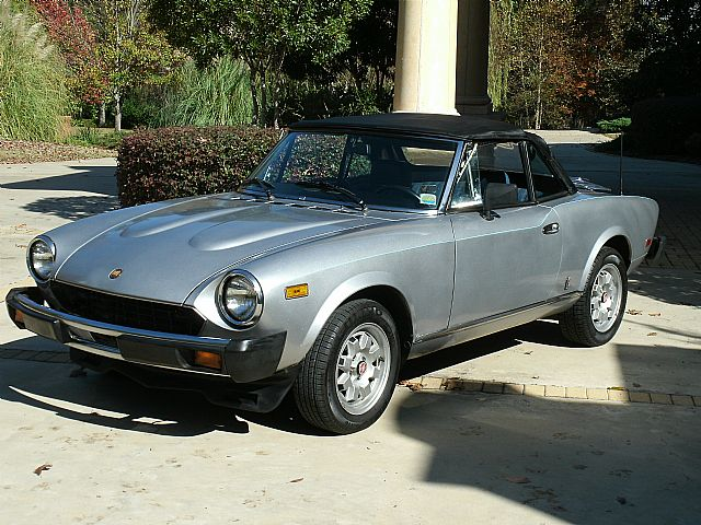 1982 Fiat Spider for sale
