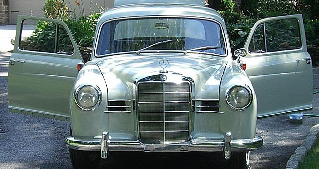 1958 Mercedes 180 for sale