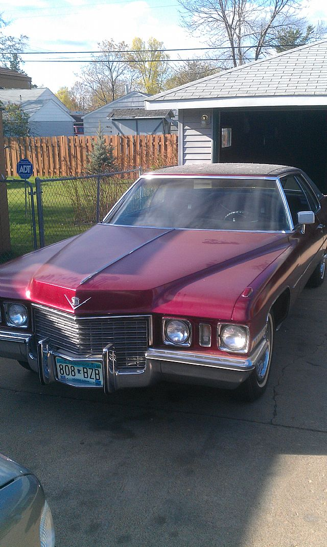 1972 Cadillac Coupe DeVille for sale