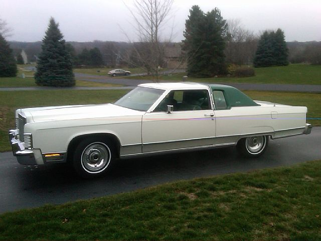 1977 Lincoln Town Coupe for sale