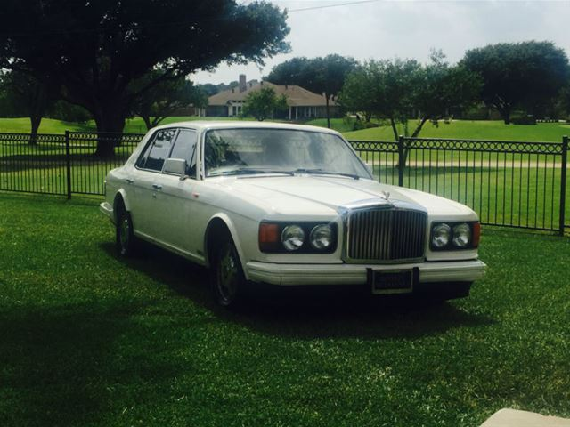 1989 bentley mulsanne for sale schulenburg texas. Black Bedroom Furniture Sets. Home Design Ideas
