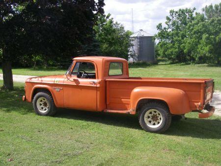 1966 Dodge D200 For Sale St. Charles, Minnesota