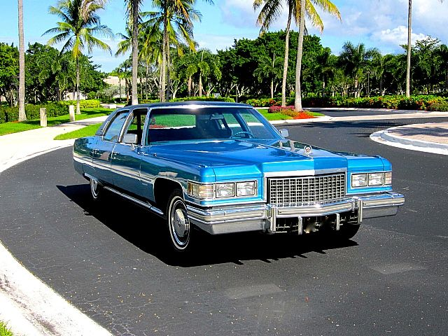 1976 Cadillac Fleetwood for sale