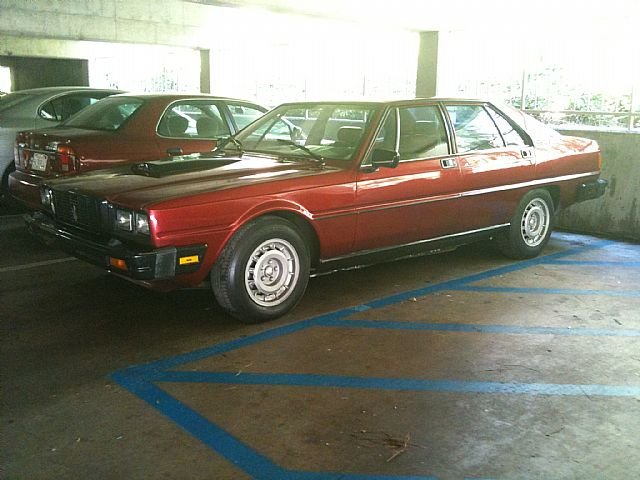 1983 Maserati Quattroporte for sale