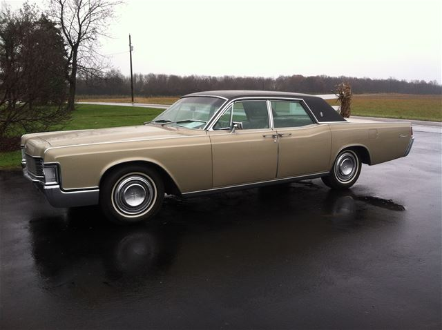 1968 lincoln continental for sale avilla indiana. Black Bedroom Furniture Sets. Home Design Ideas