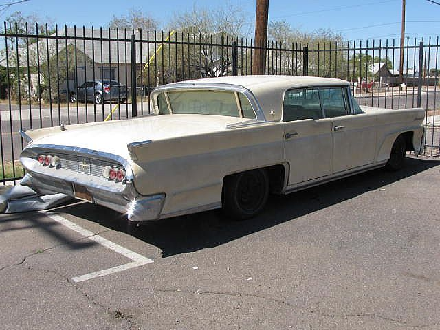 1958 lincoln continental mark iii for sale phoenix arizona. Black Bedroom Furniture Sets. Home Design Ideas