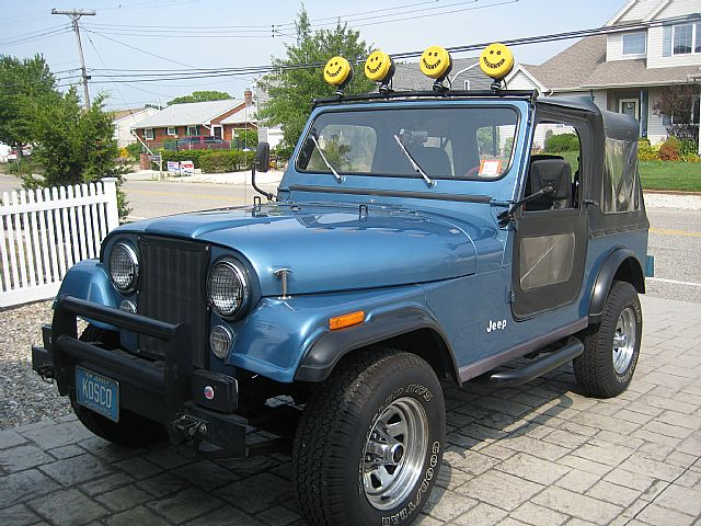 1986 Jeep CJ7 for sale