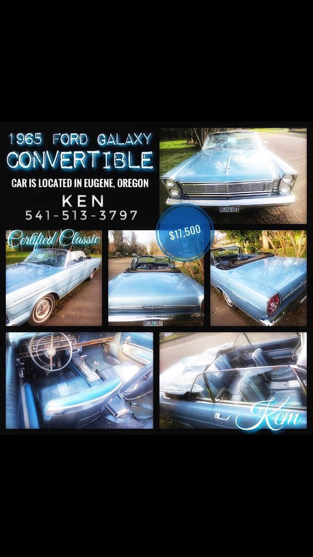 1965 Ford Galaxy for sale