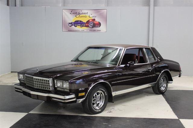 1980 Chevrolet Monte Carlo For Sale Lillington North Carolina