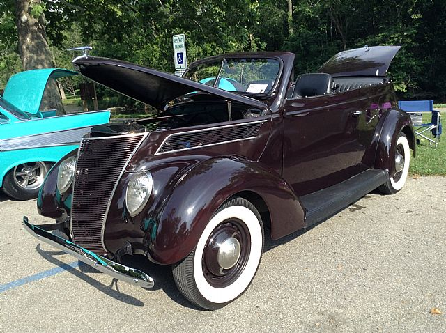 1937 ford 2 door sedan convertible for sale pendleton indiana for 1937 ford 2 door sedan