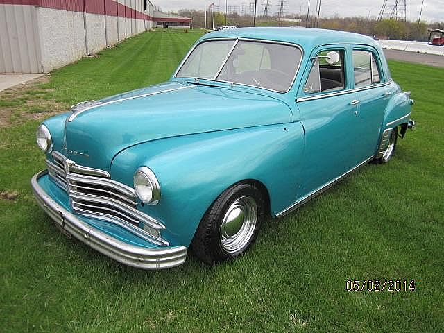 1949 plymouth 4 door sedan for sale flint michigan