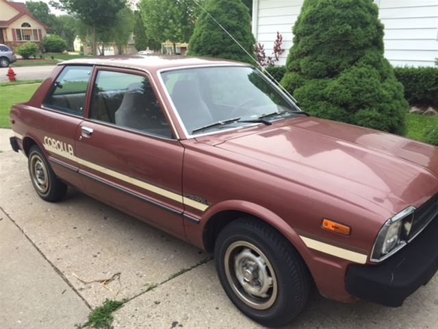 1980 toyota corolla tercel for sale horicon wisconsin. Black Bedroom Furniture Sets. Home Design Ideas