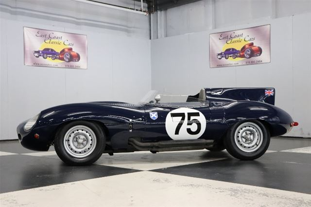 1960 Jaguar D Type