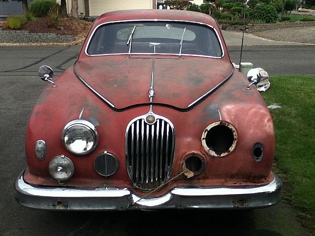 1956 Jaguar Mark 1 for sale