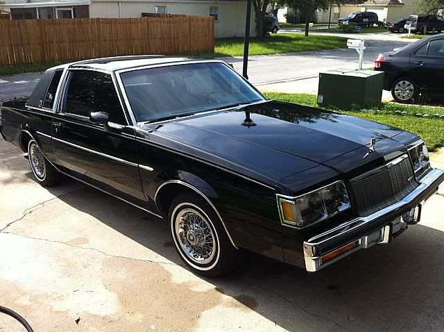 1986 buick regal for sale wesley chapel florida. Black Bedroom Furniture Sets. Home Design Ideas