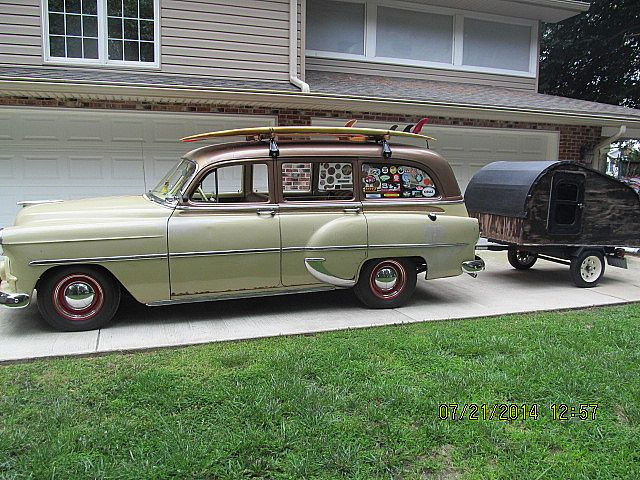 1953 Chevrolet Tin Woody