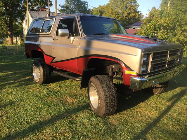 1986 Chevrolet K5 Blazer For Sale Waynetown , Indiana