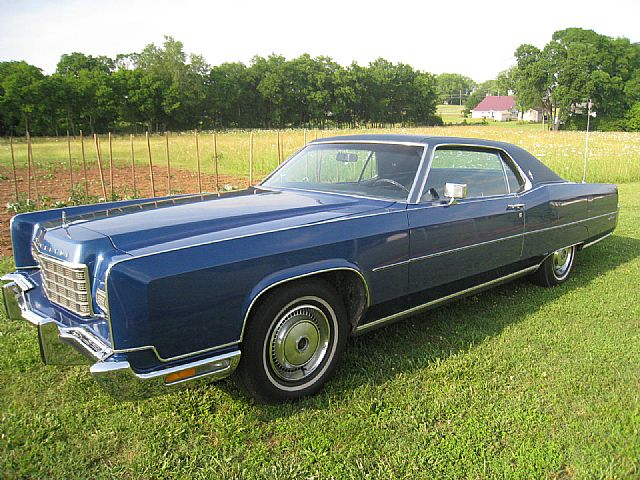 1973 lincoln continental for sale nashville tennessee. Black Bedroom Furniture Sets. Home Design Ideas
