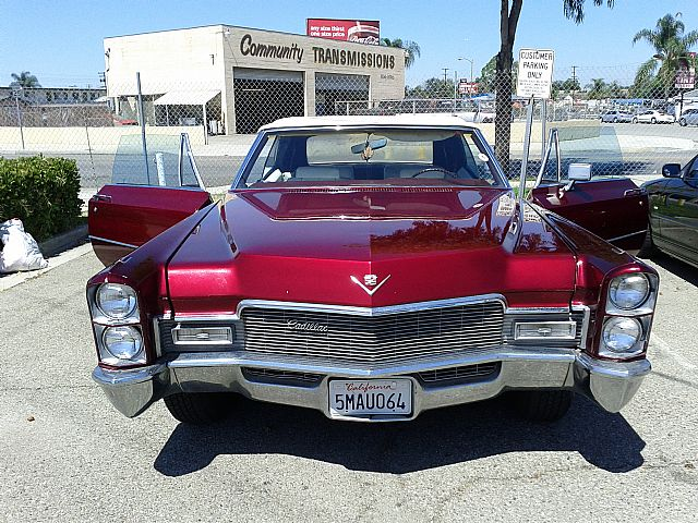1968 Cadillac DeVille For Sale Downey, California