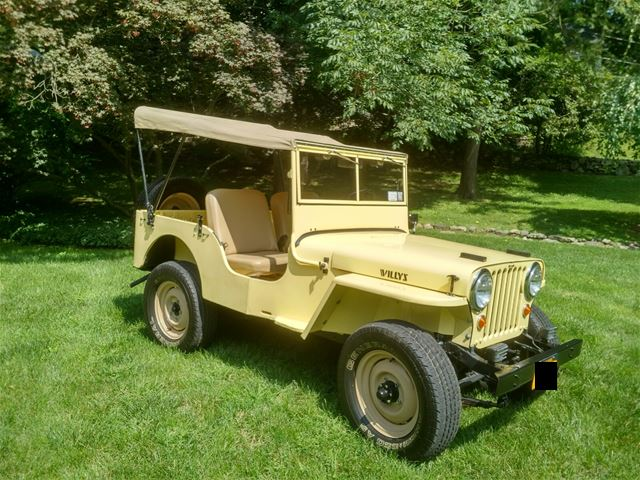 1946 Willys CJ-2A for sale