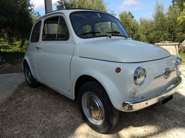 1967 Fiat 500f For Sale Italy