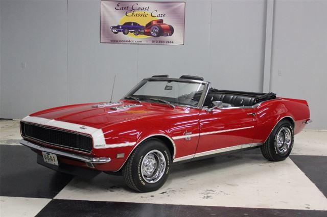 1968 chevrolet camaro rs ss for sale lillington north carolina. Black Bedroom Furniture Sets. Home Design Ideas