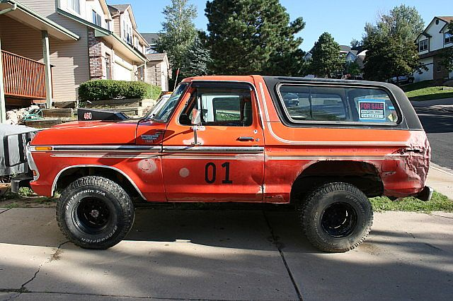 1979 Ford Bronco for sale