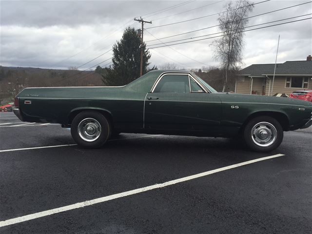 1969 chevrolet el camino for sale pulaski virginia. Black Bedroom Furniture Sets. Home Design Ideas