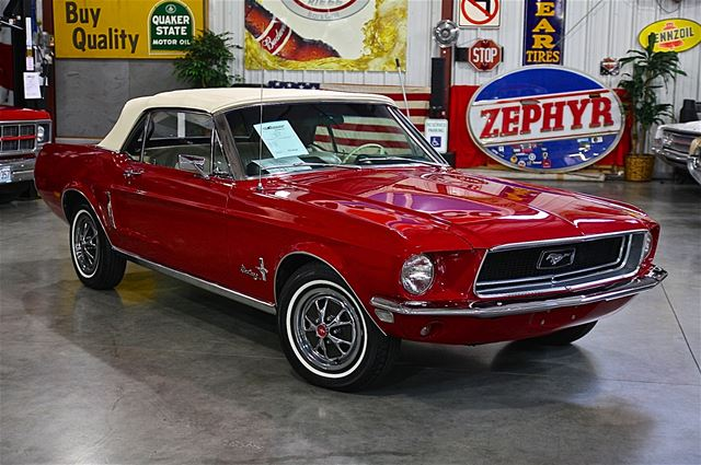 1968 ford mustang convertible for sale fenton missouri. Black Bedroom Furniture Sets. Home Design Ideas