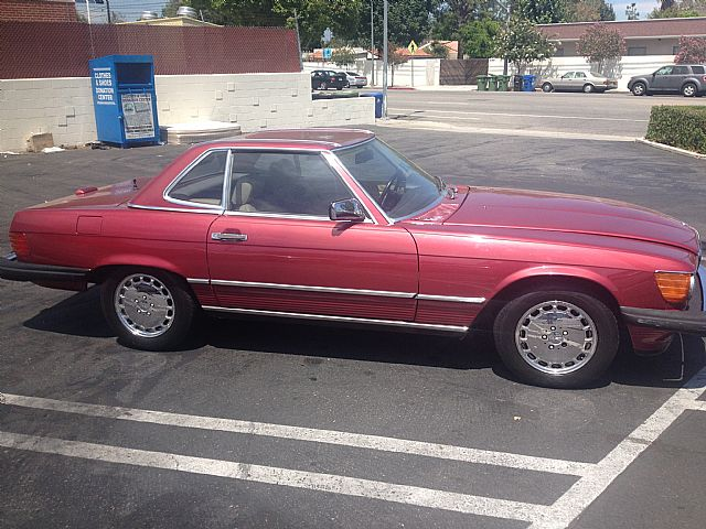 1989 Mercedes 560SL for sale